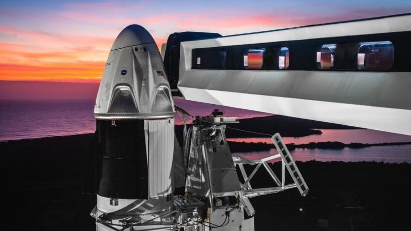 #Ao Vivo - Cobertura da NASA em 30 de maio: Lançamento do SpaceX Crew Dragon