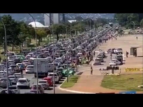Ao vivo: Mega Carreata em Brasília - 17/05/2020