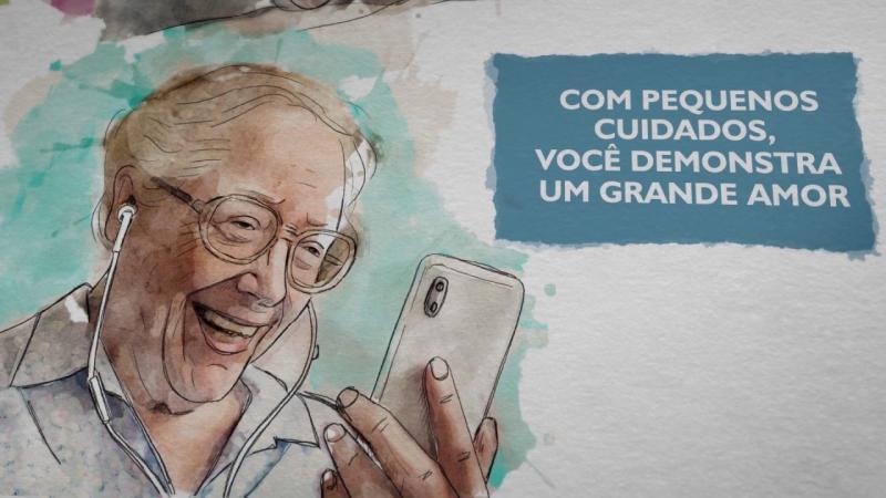 Uma mensagem aos familiares e cuidadores(as) de pessoas idosas